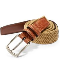 Saks Fifth Avenue - Stretch Leather Belt - Lyst