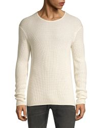 John Varvatos - Thermal Crewneck Top - Lyst