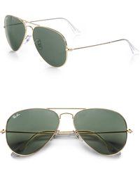Ray-Ban - 58mm Original Aviator Sunglasses - Lyst