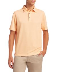 Saks Fifth Avenue - Collection Heat Blocking Polo - Lyst