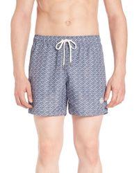 J.Lindeberg - Banks Pattern Swim Shorts - Lyst
