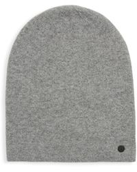 Bickley + Mitchell Ribbed Beanie - Gray