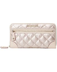 MZ Wallace Crosby Long Wallet - Multicolor