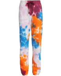 Warm Tie-dye Chill Sweatpants - Multicolor