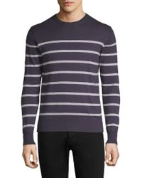 Eleventy - Striped Roundneck Sweater - Lyst