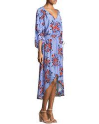 Parker - Xiomara Floral High-low Dress - Lyst