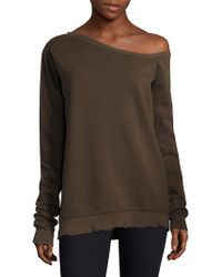 RTA - Claudine One-shoulder Sweater - Lyst