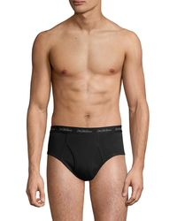 Saks Fifth Avenue Collection 3-pack Boxer Briefs - Black