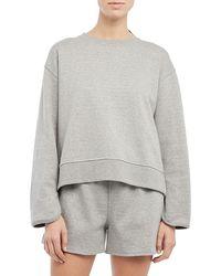 Theory Reversible Sweatshirt - Gray