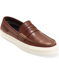 Cole Haan - Pinch Weekender Lx Penny Leather Loafers - Lyst