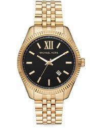 Michael Kors Lexington Link Bracelet Watch - Metallic