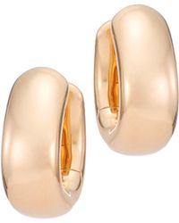 Pomellato - Iconica 18k Rose Gold Huggie Hoop Earrings - Lyst