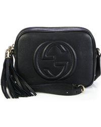 a084312fcb7eeb Gucci Dice Metallic Microguccissima Leather Chain Wallet in Metallic ...