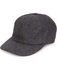 0314973c317 Neiman Marcus. Hot Brunello Cucinelli - Flannel Baseball Hat - Lyst
