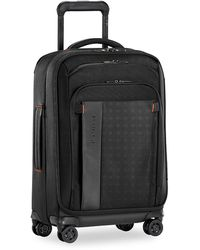 Briggs & Riley Zdx Carry-on Expandable Spinner Suitcase - Black