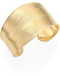 Marco Bicego - Lunaria 18k Yellow Gold Cuff - Lyst