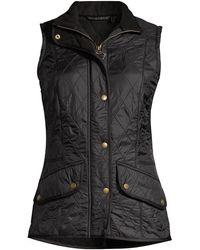 Barbour Cavalry Fleece-lined Vest - Black