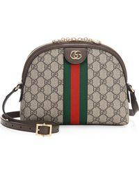 4e08c04125e Gucci - Ophidia GG Supreme Small Shoulder Bag - Lyst