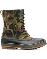 7e4afbe41c173 Clarks Suede Camo Desert Boots in Green for Men - Lyst