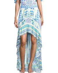 Camilla - Rio With Love Salvador Printed Ruffle Hem Skirt - Lyst