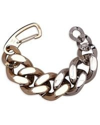 Carolina Herrera Two-tone Statement Chain Bracelet - Metallic