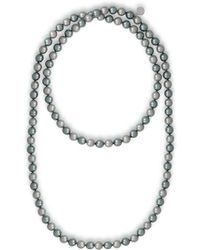 Majorica - Endless 8mm Organic Pearl Strand Necklace/48 - Lyst