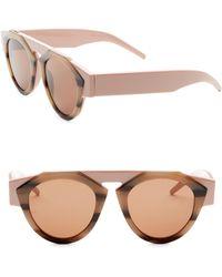 30b1ccaa3bd Smoke X Mirrors - X Fiorucci Atomic3 Tortoise   Pink Round Sunglasses - Lyst