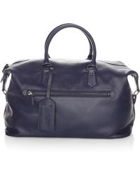 Polo Ralph Lauren | Pebbled Leather Duffle Bag | Lyst