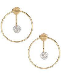 Phillips House - Affair Diamond & Gold Hoop Infinity Enhancer Earring - Lyst