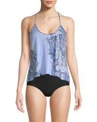 In Bloom - Thyme Paisley-print Camisole - Lyst