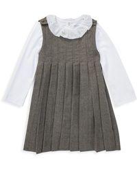 Ralph Lauren - Baby Girl's Two-piece Dress & Bodysuit Set - Lyst