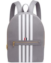 Thom Browne | Classic Leather Backpack | Lyst