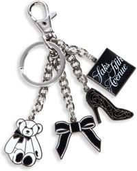 Saks Fifth Avenue - Store Front Keychain - Lyst