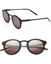 Kyme - Miki 46mm Round Mirror Sunglasses - Lyst
