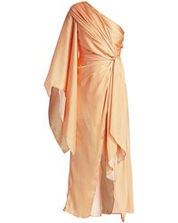 Significant Other Caspian One-shoulder Dress - Orange
