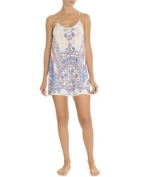 In Bloom - Country Blue Border Chemise - Lyst