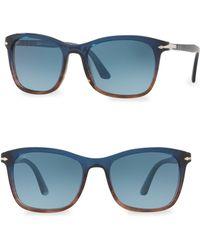 Persol | 54mm Wayfarer Sunglasses | Lyst