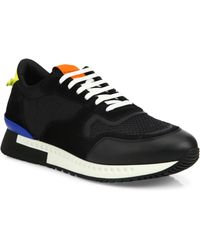 Givenchy - Leather And Suede Sneakers - Lyst