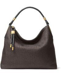Michael Kors - Skorpios Leather Shoulder Bag - Lyst