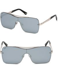 Web - Square Shield Metal Sunglasses - Lyst
