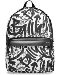 Bally - Wolfson Nylon Backpack - Lyst