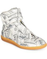 Maison Margiela - Future Dollars High-top Sneakers - Lyst
