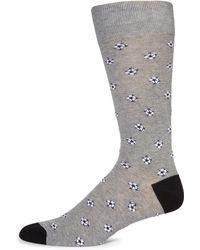 Saks Fifth Avenue Soccer Balls Socks - Gray