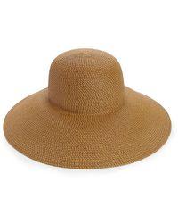 Eric Javits Bella Floppy Hat - Natural