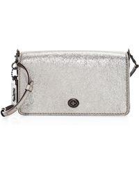 COACH - 1941 Metallic Leather Dinky Crossbody Bag - Lyst