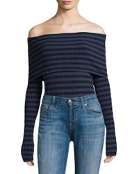 Twenty - Sherbrooke Off-the-shoulder Bodysuit - Lyst