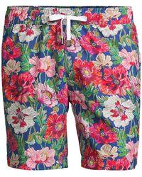 Onia Charles Floral Swim Trunks - Multicolor