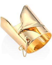 Eddie Borgo - Large Folded Cuff Bracelet - Lyst