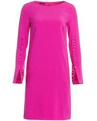 ESCADA Dehva Button-trimmed Shift Dress - Pink