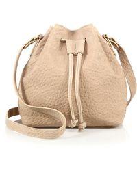 Mr. - Baker Ii Bubble Leather Bucket Bag - Lyst